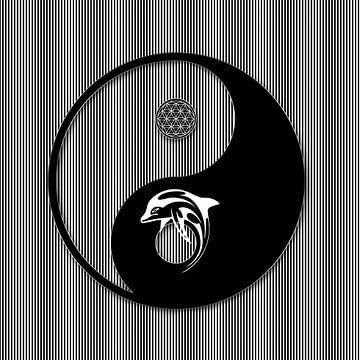 Yin-Yang-Symbol von Marion Tenbergen