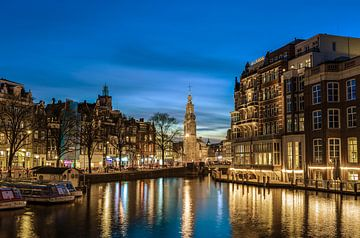 Munttoren Amsterdam van Arno Prijs