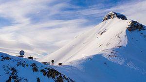 Weerstation op Spitsbergen