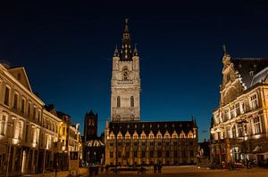 Zomeravond in Gent_03 van Alfred Meester
