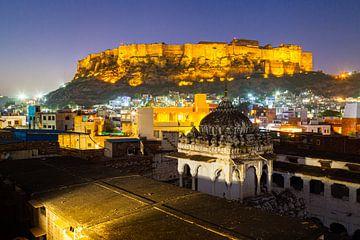 Jodhpur fort in India