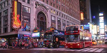 Times Square  van Jacky Schuitert