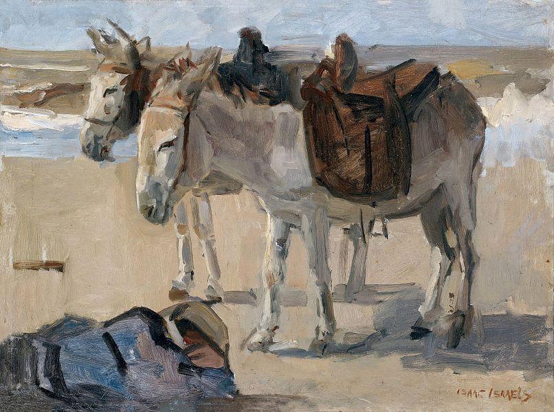 Twee ezeltjes, Isaac Israels van Schilders Gilde