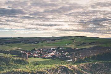 Het dorpje Escalles aan de Opaalkust in Frankrijk van Daan Duvillier