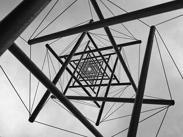 Die Nadel monochrom von BHotography