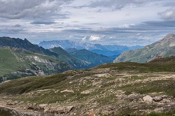 Berglandschaft in den Alpen von Alie Messink