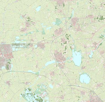 Kaart van Tytsjerksteradiel
