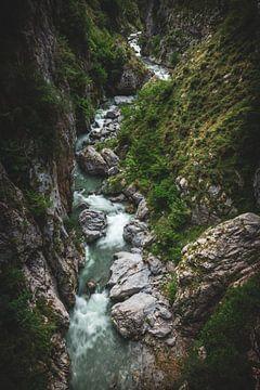 Asturien Picos de Europa Schlucht auf der Ruta del Cares von Jean Claude Castor