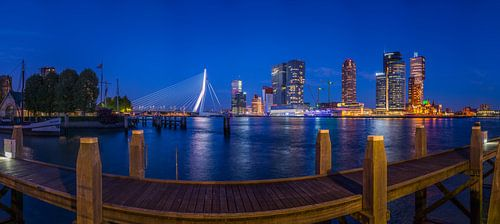 Panorama Rotterdam Wilhelminapier van