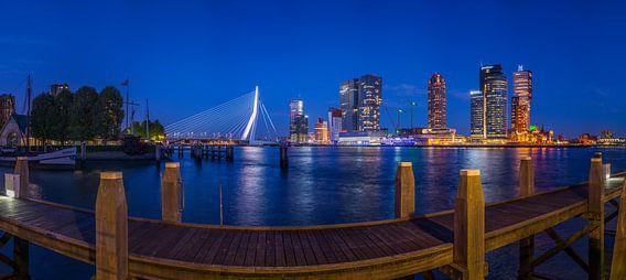 Panorama Rotterdam Wilhelminapier
