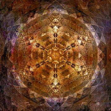 Mandala MixedMedia sur Sabine Wagner