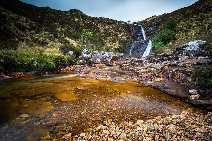 Isle-of-Skye Schotland: Blackhill waterfall van Remco Bosshard