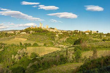 San Gimignano in der Toskana von Michael Valjak