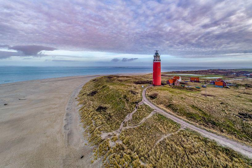 Vuurtoren Eierland - Texel van Texel360Fotografie Richard Heerschap