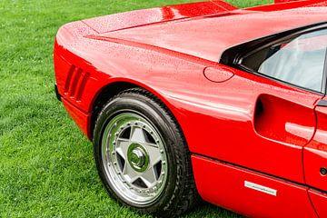 Ferrari 288 GTO 1980 détail de la supercar sur Sjoerd van der Wal