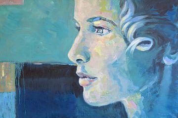 Auge des Horus die weibliche Sonne von VDB schildersatelier