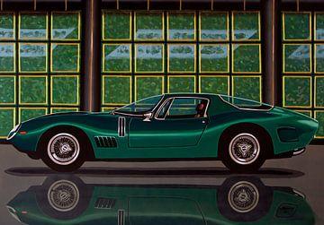Bizzarrini 5300 GT Strada 1965 Gemälde