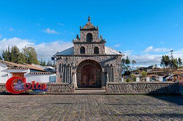 Colta: Iglesia de Balbanera kerk van Maarten Verhees