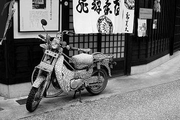 Artistieke motorfiets (Honda) van Inge Hogenbijl