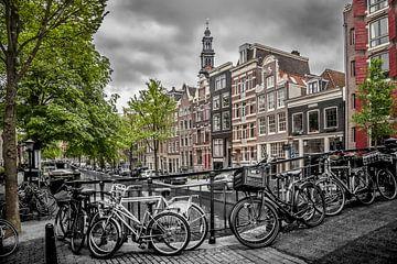 Bloemgracht Amsterdam van Melanie Viola