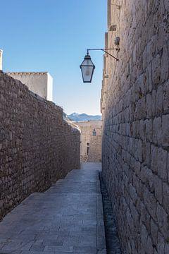 Straten van Dubrovnik van Nina Rotim