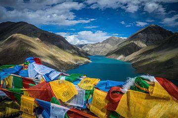 Lac au Tibet sur Roel Beurskens