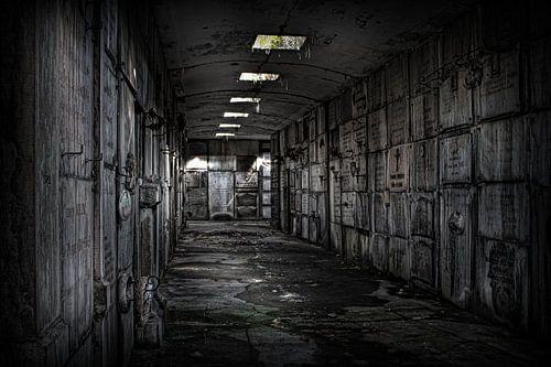 Verlaten crypte