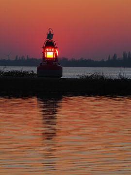 Aalsmeer-Licht auf dem Wasser von Gaby  van der Peijl