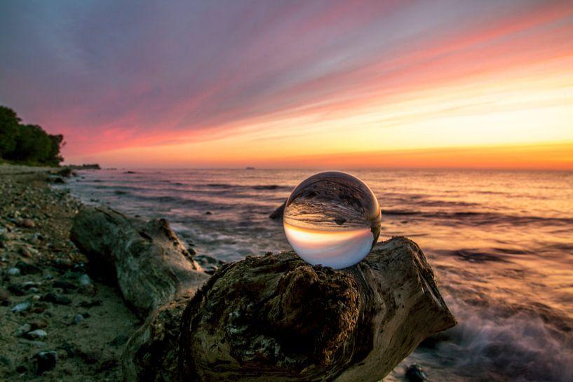 Morgens am Strand von Roland Hoffmann