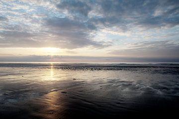 zonsondergang aan zee von Robby Stifter