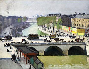 Le Pont Saint-Michel, Albert Marquet, 1908