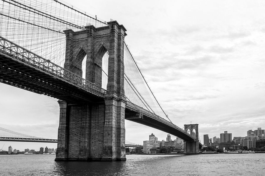Brooklyn Bridge New York van Iwan Bronkhorst