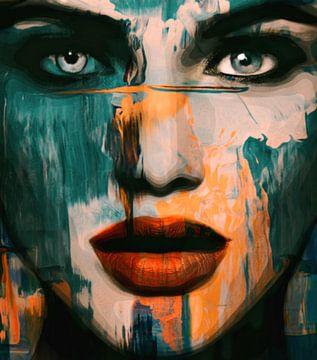 Just Face Abstrakt Game 3 D 902 von Felix von Altersheim