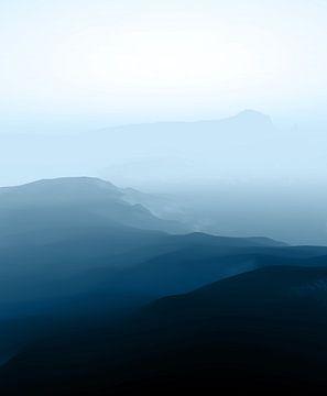 Blauwe Sereniteit van Angel Estevez