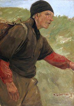 Wandernder Bauer, MAX LIEBERMANN, 1894 von Atelier Liesjes