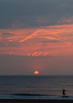 Sunset jump von Jeanette van Starkenburg
