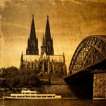 Kölner Dom van Gabi Siebenhühner