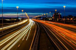 snelweg A2 by night