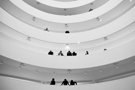 Guggenheim Museum, New York van Jeroen Knippenberg