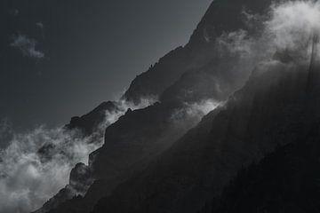 Wettersteinmassiv von Peter Leenen
