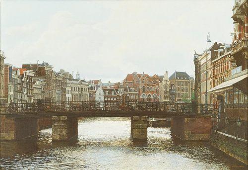 Schilderij: Amsterdam, Rokin van