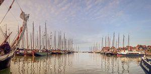 Panorama haven Volendam van John Leeninga
