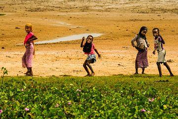 Afrikaanse kinderen, arm maar zo vrolijk von Susan van der Riet
