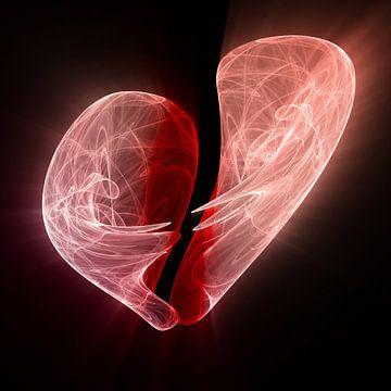 Broken Heart van Dagmar Marina
