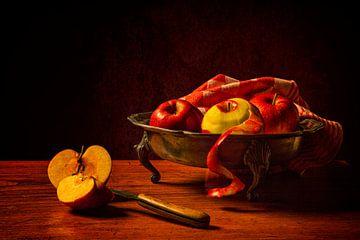 Stilleven: Appels van Carola Schellekens