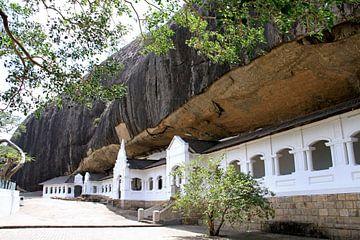 Dambulla-Tempel in Sri Lanka von Gert-Jan Siesling
