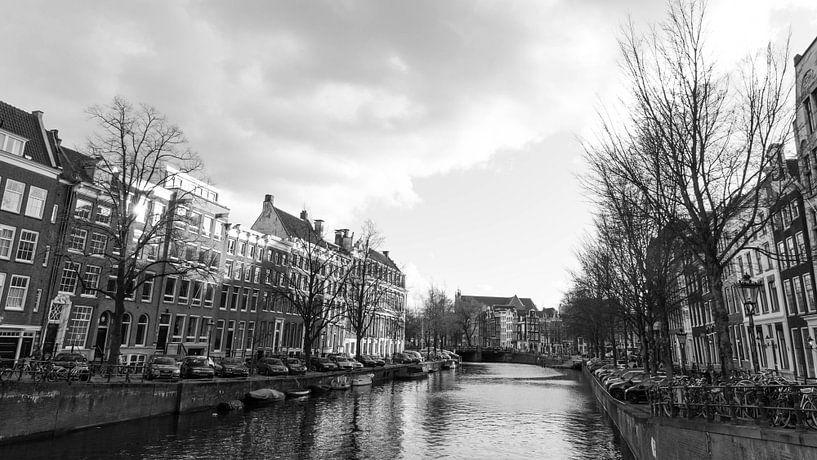 Keizersgracht in Amsterdam  van Niels Eric Fotografie