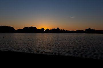Sonnenuntergang in Almere 3 von Mark van Harlingen