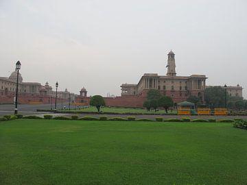 Indiase Parlementsgebouw van