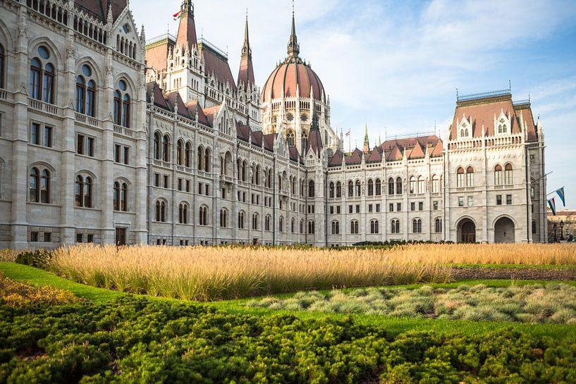Parlement Hongarije Boedapest van Erwin Zwaan